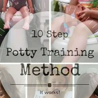 Potty Training in 10 Easy Steps