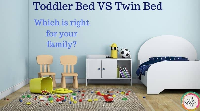 toddler bed versus twin bed