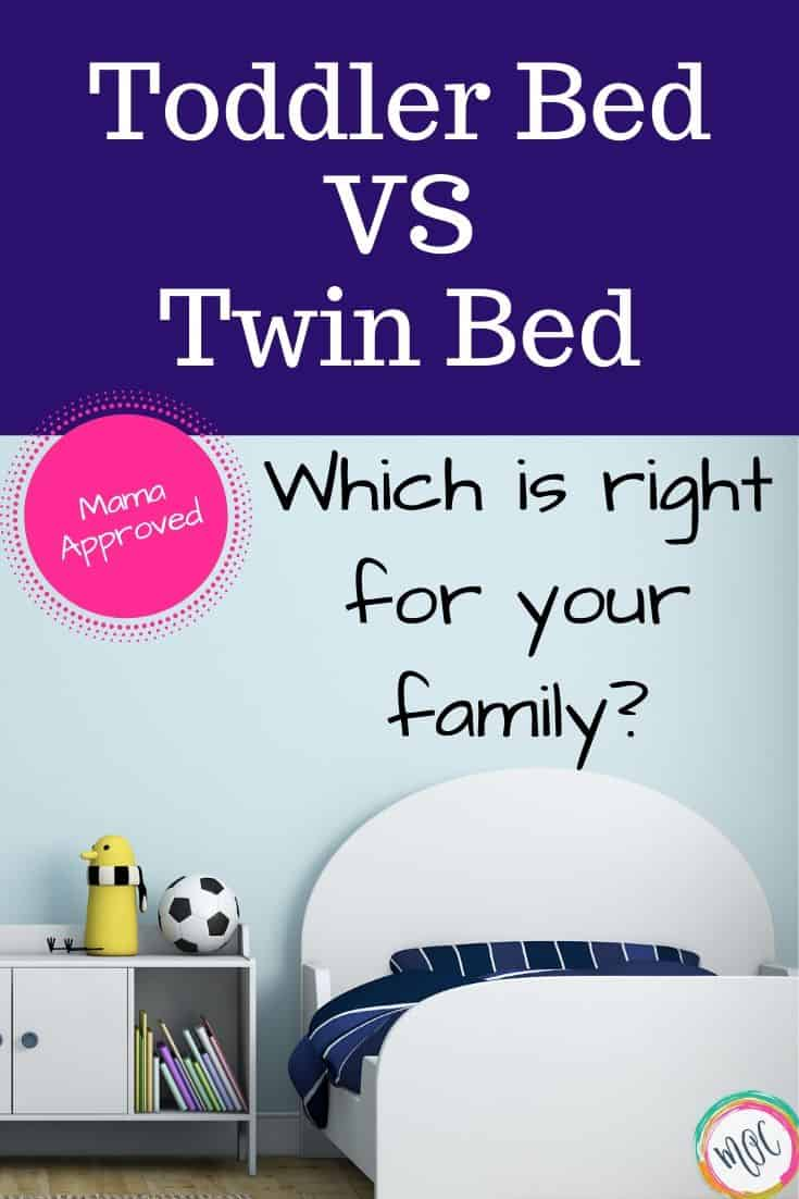 Toddler Bed VS. Twin Bed   Mama's Organized Chaos