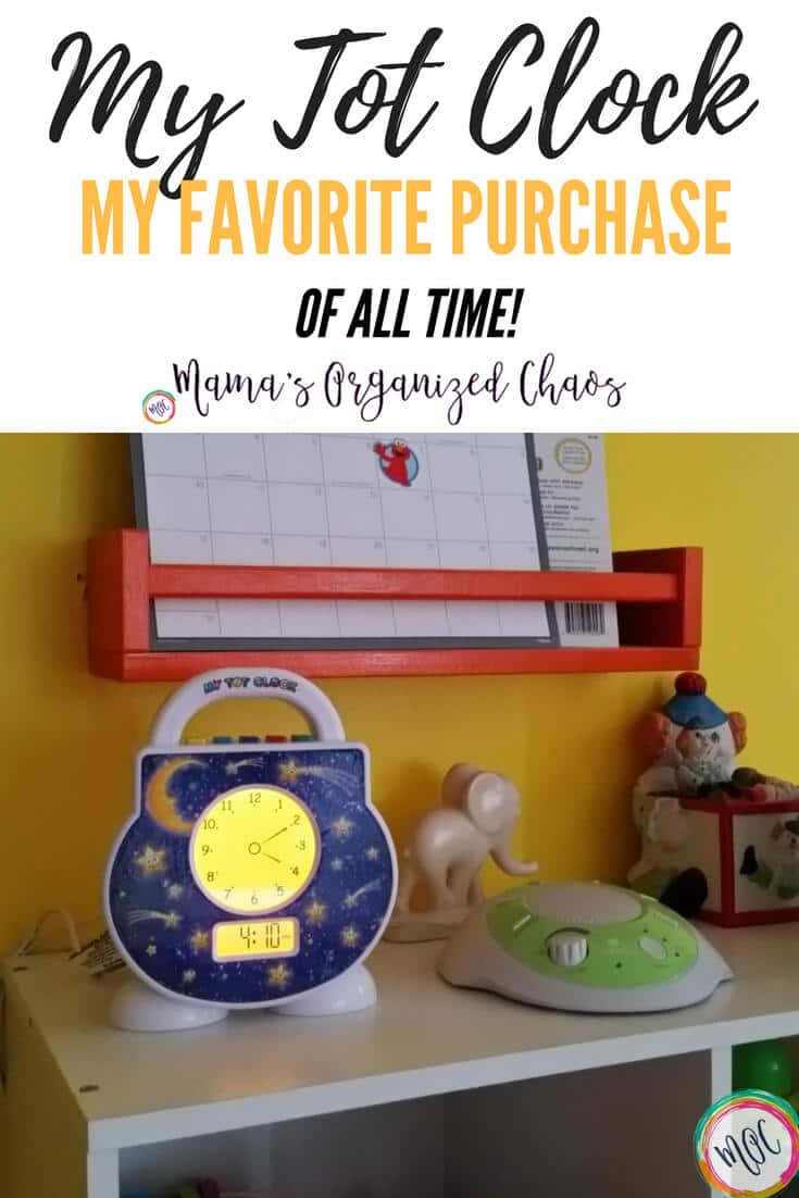 My tot clock- a review of this product and tips on how to use it. This is our all time favorite purchase for our daughter.
