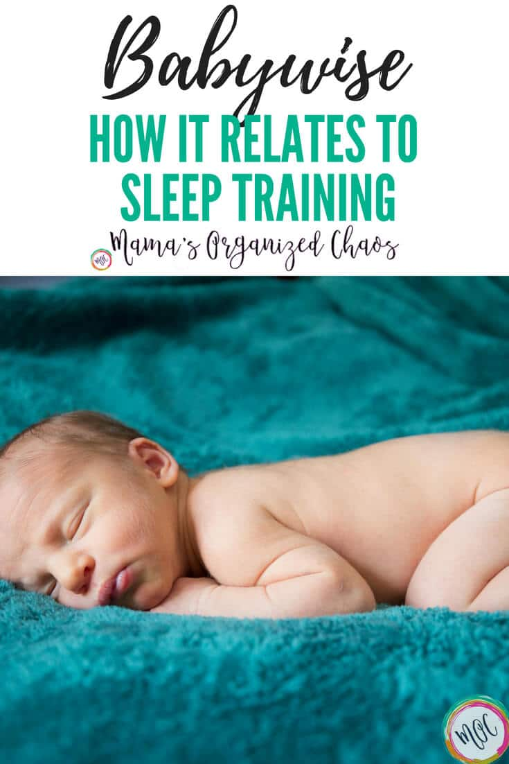 Babywise sleep training misconceptions. Today I want to clarify what Babywise is. I want to clarify what Sleep Training is. And I want to talk about how Babywise and Sleep training are related.