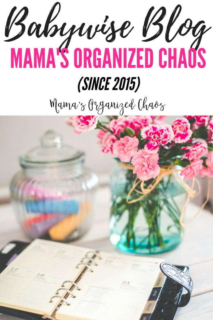 A babywise blog- Mama's Organized Chaos