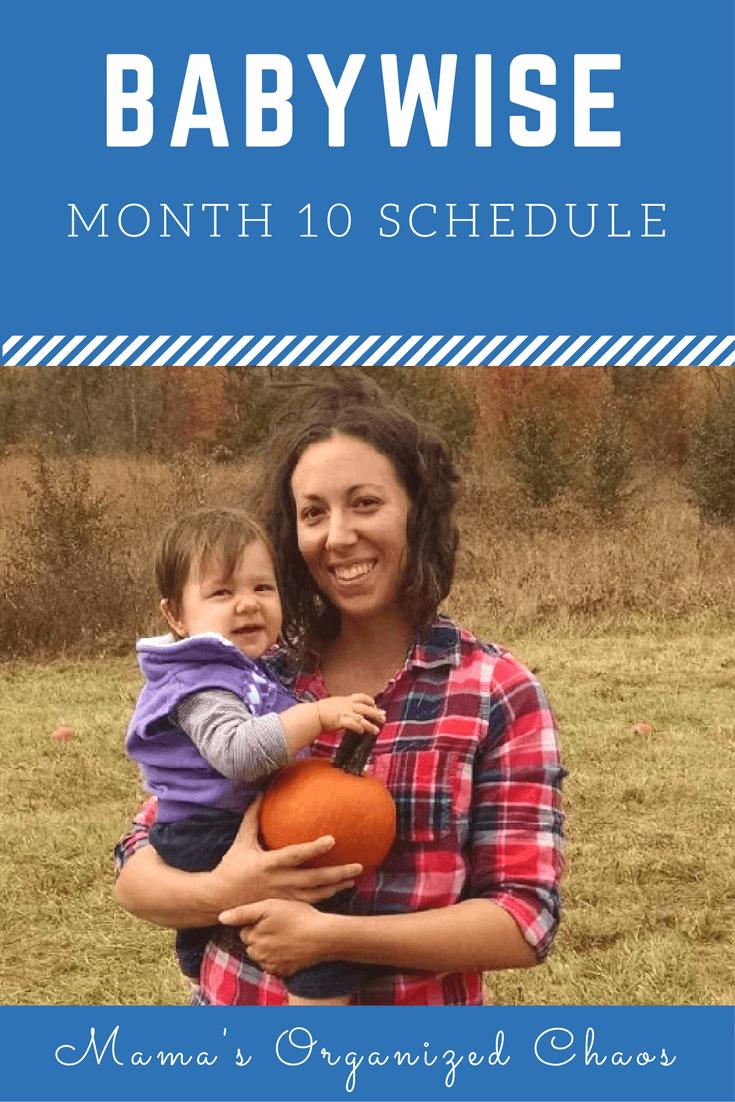 Month 10 Schedule