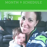 9 Month: Feeding SCHEDULE