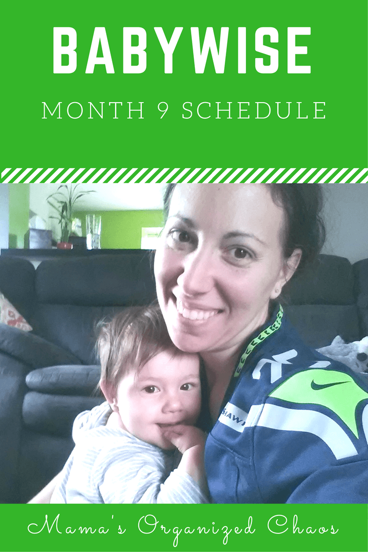 Babywise schedule month 9: for baby around 9 months of age. On this page you'll find schedules, information on naps, nighttime sleep, and more!