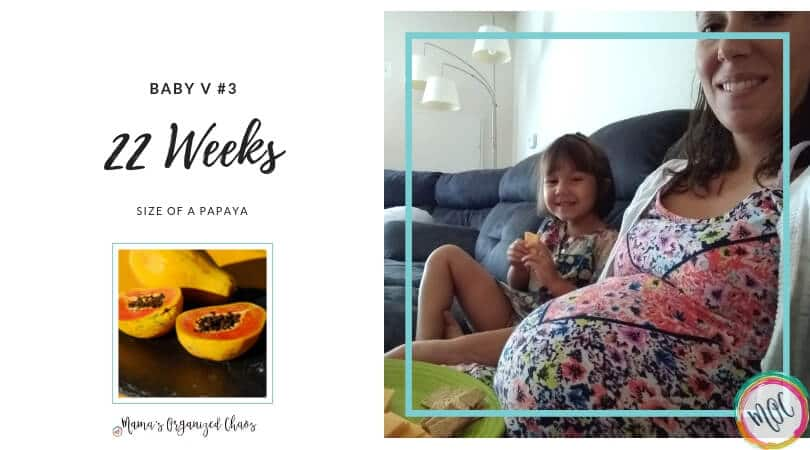 22 weeks pregnant- symptoms, trip to labor and delivery, baby is the size of a papaya
