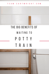 late potty training