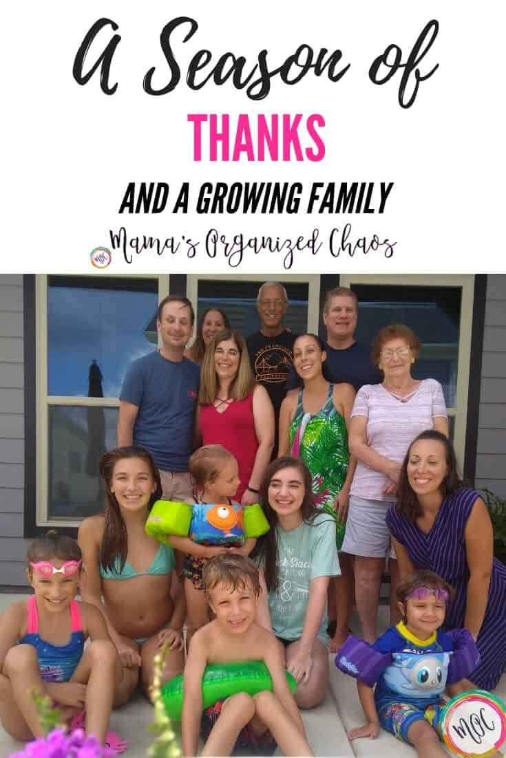 A season of thanks and a growing family.