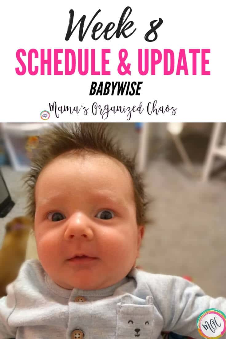 Ideal Baby Awake Times (Chart Included) - Mama's Organized Chaos