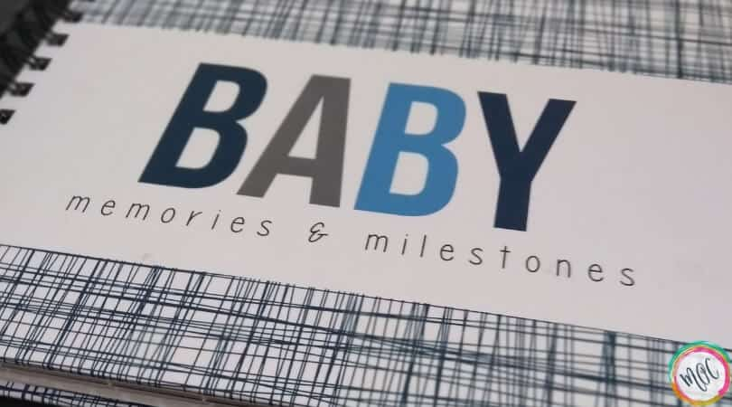 baby memories and milestones hardcover book