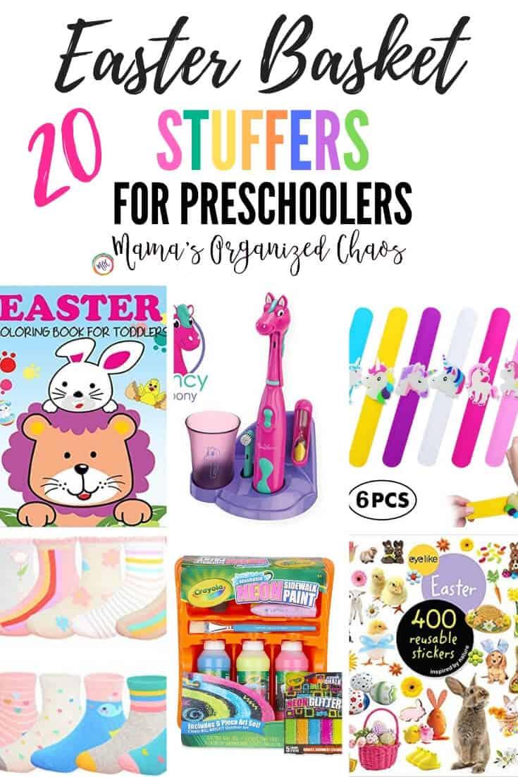 20 easter basket stuffers for preschoolers