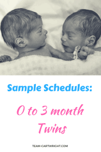 twin schedules