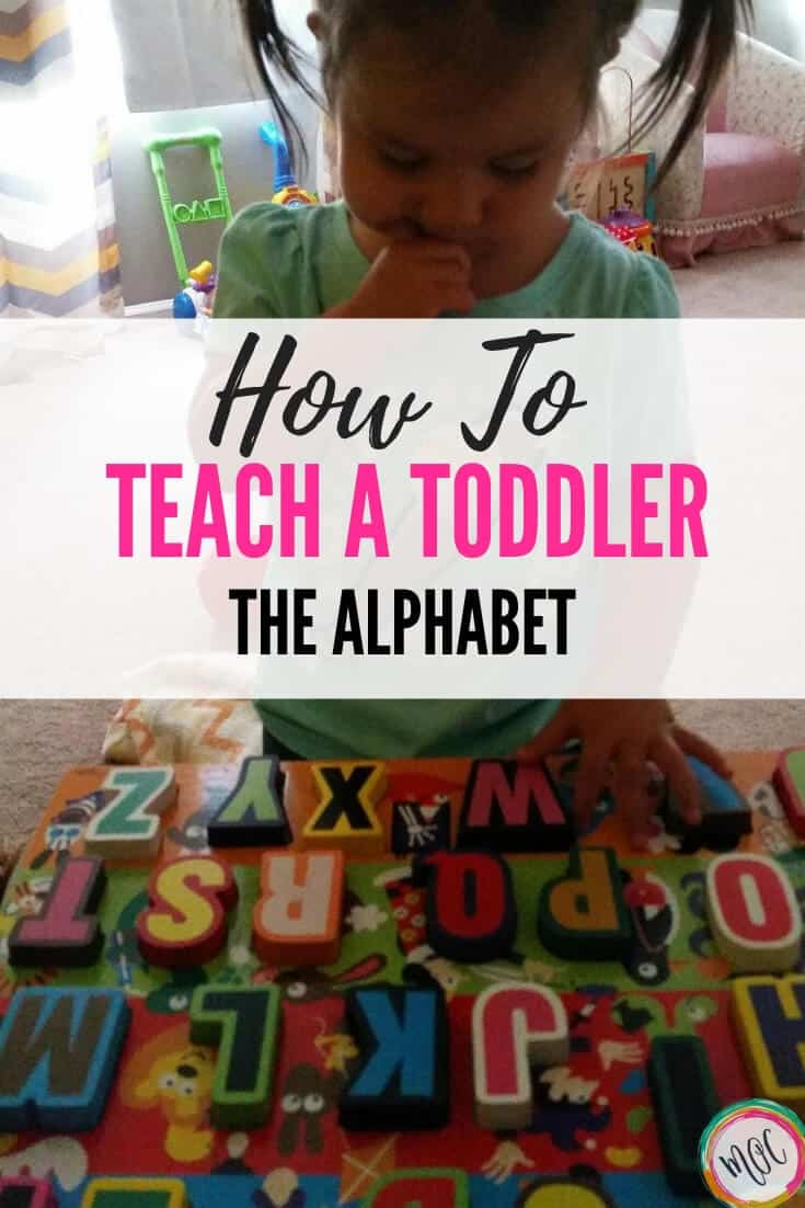 teaching toddlers letters