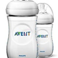 Philips AVENT Natural 9 Oz Bottle (Pp), 2 Pack, Clear