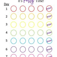 Printable Potty Training Reward Chart