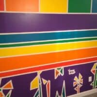 How To Paint A Rainbow Themed Bedroom Wall