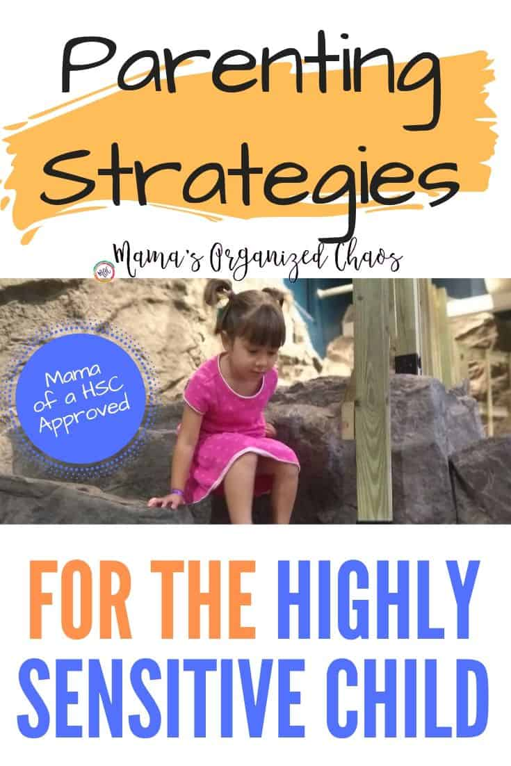 parenting strategies for the highly sensitive child