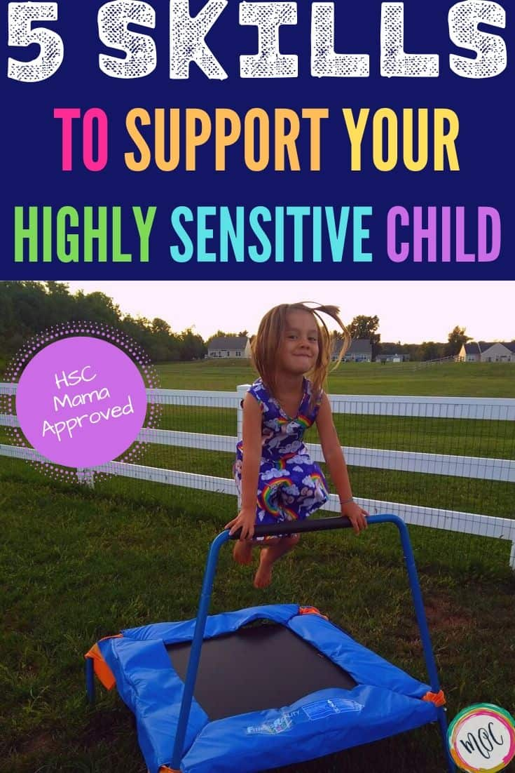 learning how to support our highly sensitive child
