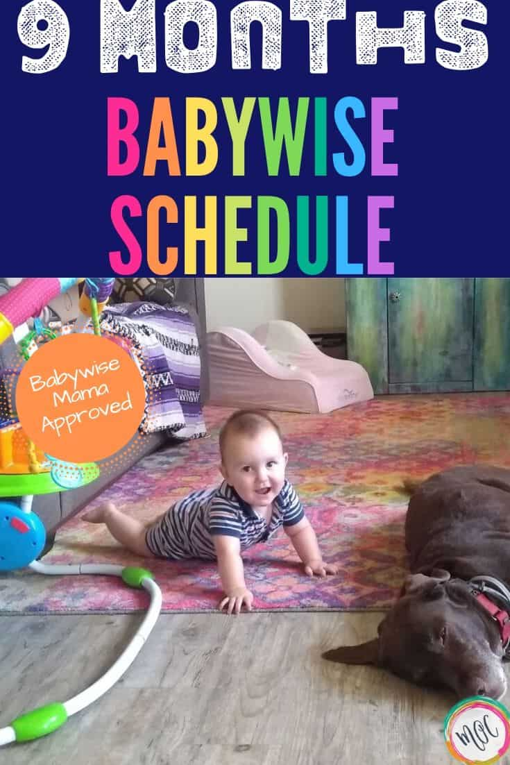9 month babywise schedule