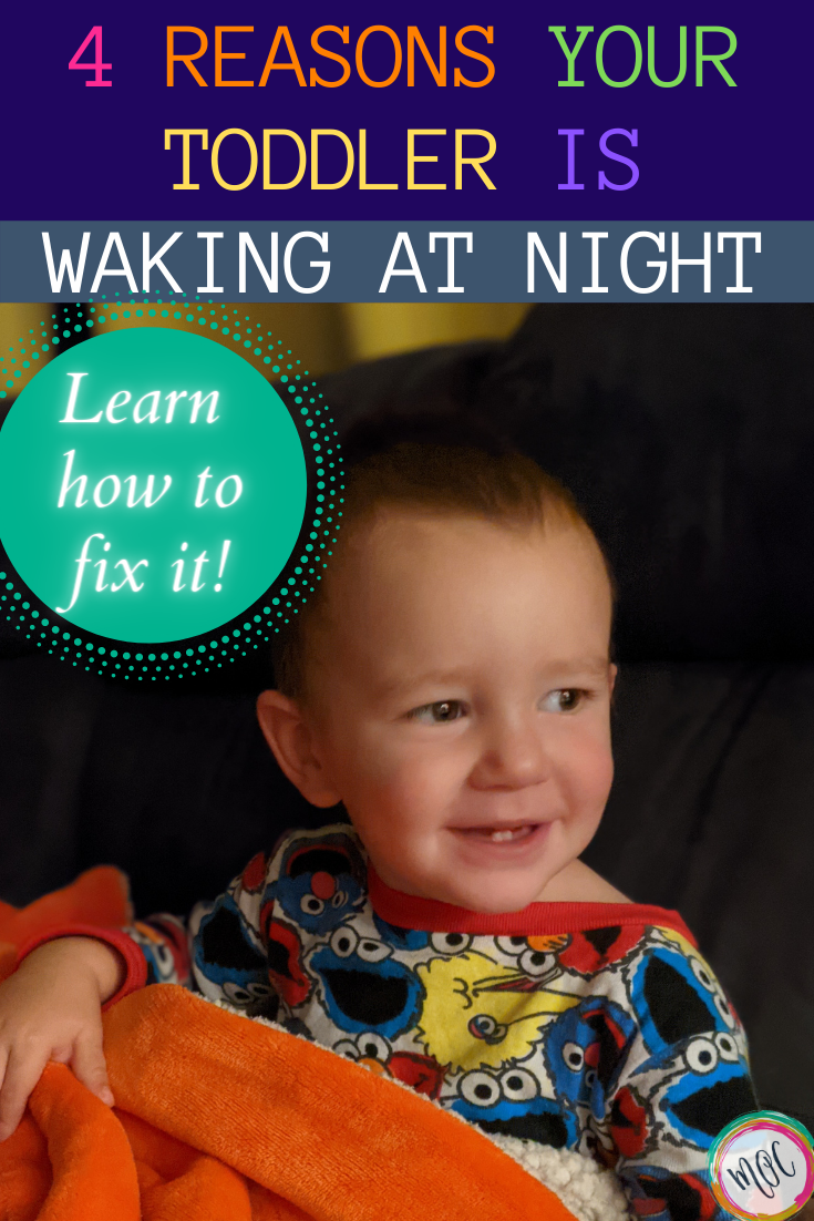 4 reasons your toddler is waking at night