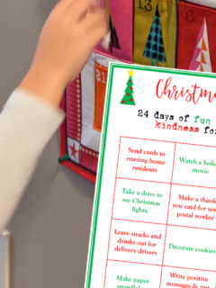 christmas kindness countdown calendar